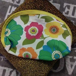 Trina Turk Clinique cosmetic bag